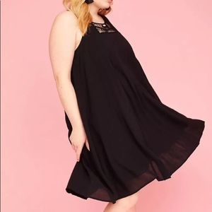 394633702bec Lane Bryant Dresses - Lane Bryant Black Dress Boho Plus Size 26 28 Women